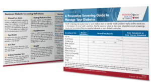 NHN Diabetes Screening Guide
