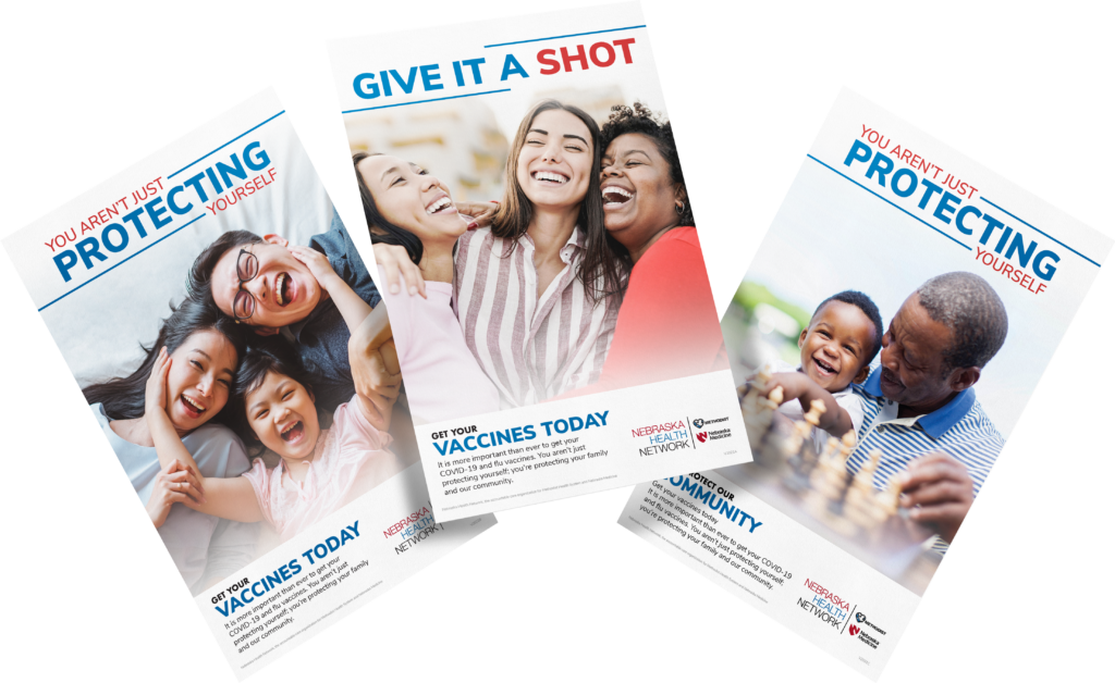 NHN vaccination poster series